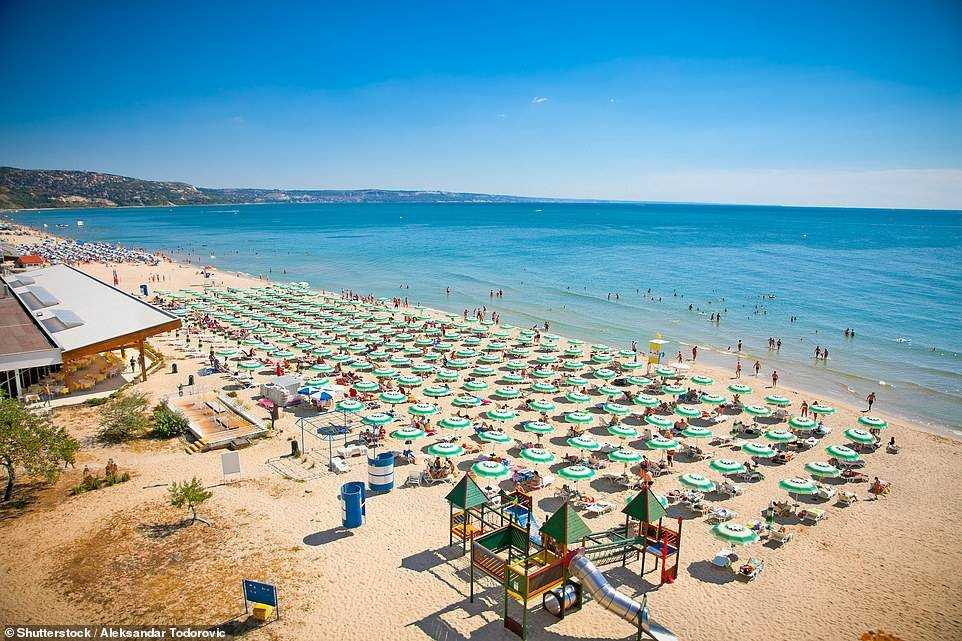 Easyjet announced this week that it will begin flights from the UK to Sunny Beach in Bulgaria, pictured, this summer